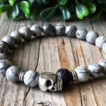 gray color jewelry